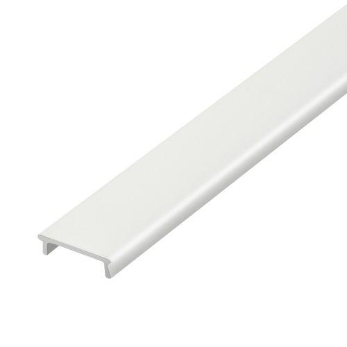 UFE-R03 FROZEN 200 POLYBAG Матовый рассеиватель для алюминиевого профиля. пластик. Длина 200 см. ТМ Uniel.