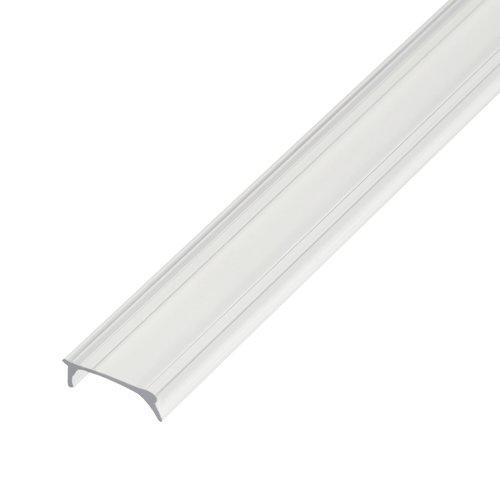 UFE-R04 CLEAR 200 POLYBAG Прозрачный рассеиватель для алюминиевого профиля. пластик. Длина 200 см. ТМ Uniel.