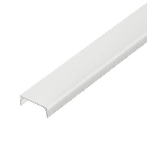 UFE-R04 FROZEN 200 POLYBAG Матовый рассеиватель для алюминиевого профиля. пластик. Длина 200 см. ТМ Uniel.
