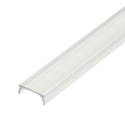 UFE-R07 CLEAR 200 POLYBAG Прозрачный рассеиватель для алюминиевого профиля. пластик. Длина 200 см. ТМ Uniel.