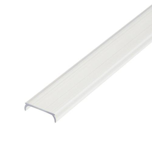 UFE-R08 CLEAR 200 POLYBAG Прозрачный рассеиватель для алюминиевого профиля. пластик. Длина 200 см. ТМ Uniel.