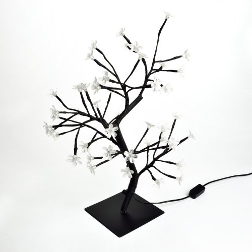 ULD-T3545-048-SBA PINK IP20 SAKURA  Дерево светодиодное Сакура. 45 см. 48 светодиодов. Розовый свет. Провод черный. TM Uniel.