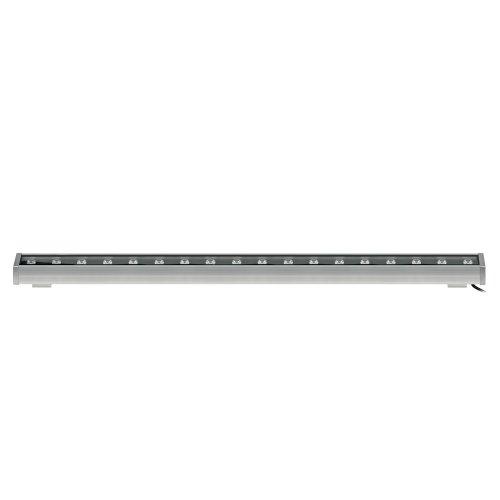 ULF-Q552 18W-NW IP65 SILVER Прожектор светодиодный линейный. 1000мм. Белый свет. Угол 45 градусов. TM Volpe.