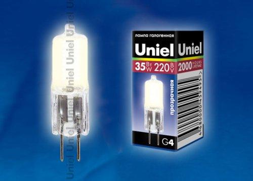 JC-220-35-G4 CL Лампа галогенная Картонная коробка