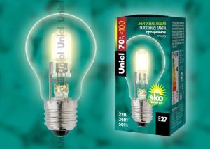 HCL-70-CL-E27 Лампа галогенная стандарт. Картонная коробка