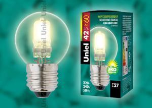 HCL-42-CL-E27 globe Лампа галогенная. Картонная коробка
