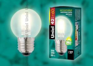 HCL-42-FR-E27 globe Лампа галогенная. Картонная коробка