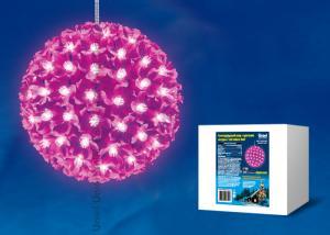 ULD-H2121-200-DTA PINK IP20 SAKURA BALL Фигура светодиодная Шар с цветами сакуры. с контроллером. 200 светодиодов. диаметр 21 см. цвет свечения-розовый. IP20