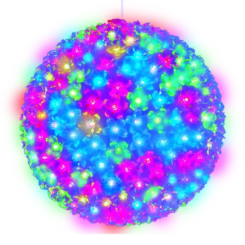 ULD-H2727-300-DTA RGB IP20 SAKURA BALL Фигура светодиодная Шар с цветами сакуры. 300 светодиодов. диаметр 27 см. цвет свечения-RGB. IP20