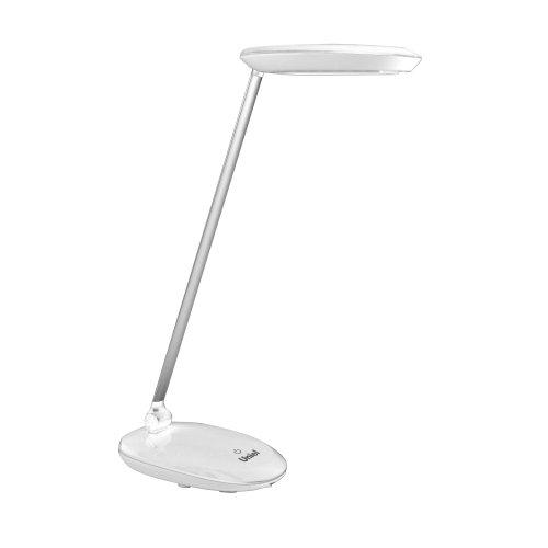 TLD-531 White-4W-LED-400Lm-4500K-Dimmer Светильник настольный. Сенсорный выключатель. Диммер. Белый. TM Uniel.