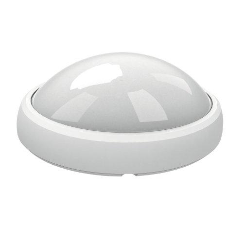 ULW-O04-12W-NW IP65 WHITE Овал. Светильник светодиодный влагозащищенный пластиковый корпус. 12Вт. 840 Лм. 4500 К белый свет. IP65. 220В. Цвет корпуса белый. Упаковка коробка