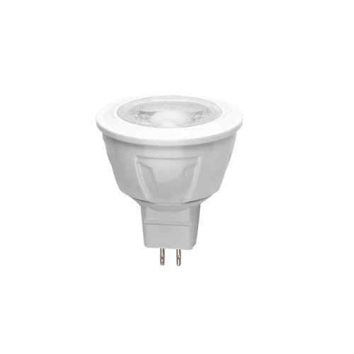 LED-JCDR-5W-NW-GU5.3-S Лампа светодиодная Volpe. Форма JCDR. матовый рассеиватель. Материал корпуса термопластик. Цвет свечения белый. Серия Simple. Упаковка картон