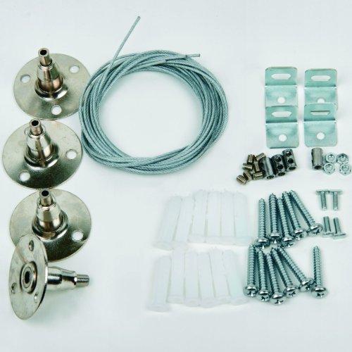 UFL-H01 SILVER 100 POLYBAG Крепления для светодиодных панелей серии PROM-3
