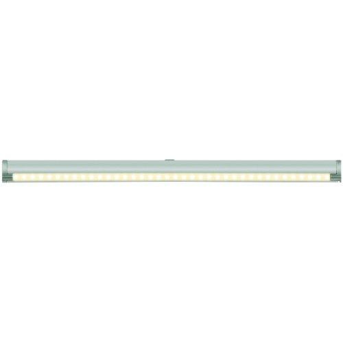 ULE-F02-4.5W-WW-OS IP20 SILVER картон Светодиодный светильник с датчиком открывания двери. Длина 59.5 см. Материал корпуса алюминий. цвет серебро. Теплый белый свет.