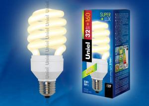 ESL-H32-32-2700-E27 Лампа энергосберегающая. Картонная упаковка