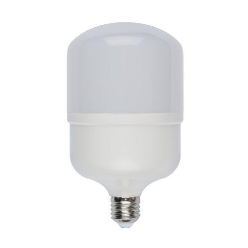 LED-M80-30W-WW-E27-FR-S Лампа светодиодная с матовым рассеивателем. Материал корпуса термопластик. Цвет свечения теплый белый. Серия Simple. Упаковка картон. ТМ Volpe