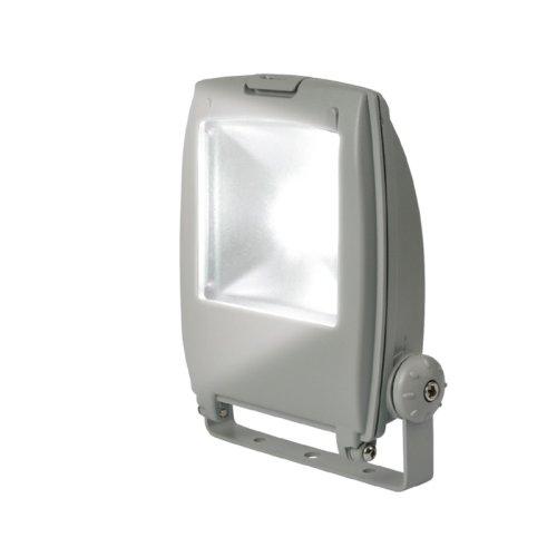 ULF-S02-10W-DW IP65 110-240В Прожектор светодиодный. Корпус серый. Цвет свечения дневной. Степень защиты IP65. Картонная упаковка