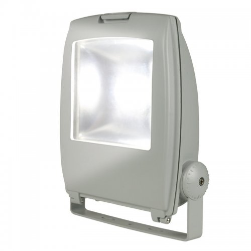 ULF-S02-50W-DW IP65 110-240В Прожектор светодиодный. Корпус серый. Цвет свечения дневной. Степень защиты IP65. Картонная упаковка