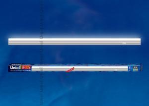 ULI-L02-5W-4200K-SL Линейный светильник LED аналог Т5. 400Lm. 4200К. выключатель на корпусе. Цвет корпуса серебристый