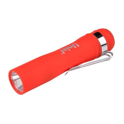 S-LD045-B Red Фонарь Uniel серии Стандарт Simple Light Debut. пластиковый корпус. 0.5 Watt LED. упаковка блистер. 1хАА н-к. цвет красный