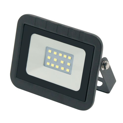 ULF-Q511 10W-DW IP65 220-240В BLACK Прожектор светодиодный. Дневной свет6500К. Корпус черный. TM Volpe.