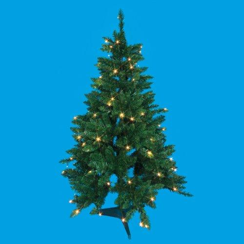 ULD-T0612-100-SBA WARM WHITE IP20 XMAS TREE Дерево светодиодное Ёлочка. 120 см. 100 светодиодов. Теплый белый свет. Провод черный. TM Uniel.