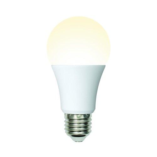 LED-A60-10W-WW-E27-FR-MB PLM11WH Лампа светодиодная. Форма А. матовая. Серия Multibright. Теплый белый свет 3000K. 100-50-10. Картон. ТМ Uniel.