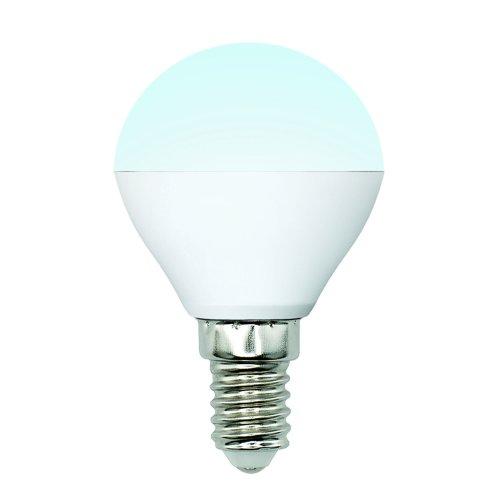 LED-G45-6W-NW-E14-FR-MB PLM11WH Лампа светодиодная. Форма шар. матовая. Серия Multibright. Белый свет 4000K. 100-50-10. Картон. ТМ Uniel.