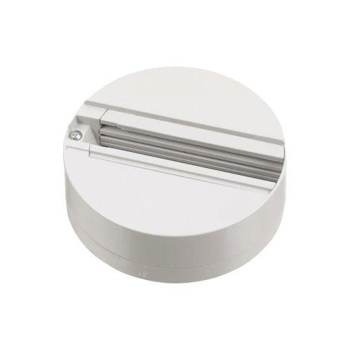 UBX-A81 WHITE 1 POLYBAG Чашка потолочного крепления. Трехфазная. Корпус белый. ТМ Uniel.