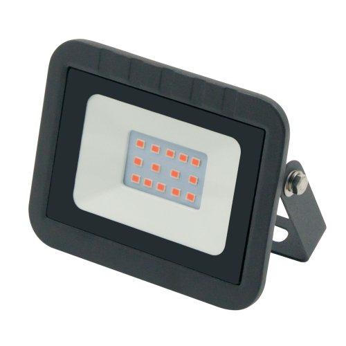ULF-Q511 10W-RED IP65 220-240В BLACK Прожектор светодиодный. Красный свет. Корпус черный. TM Volpe.