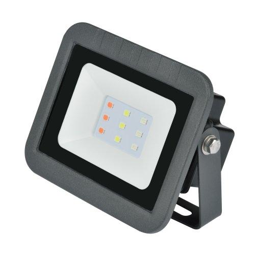 ULF-Q511 10W-RGB IP65 220-240В BLACK Прожектор светодиодный. Мультиколор. Корпус черный. TM Volpe.