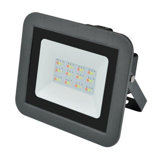 ULF-Q511 30W-RGB IP65 220-240В BLACK Прожектор светодиодный. Мультиколор. Корпус черный. TM Volpe.