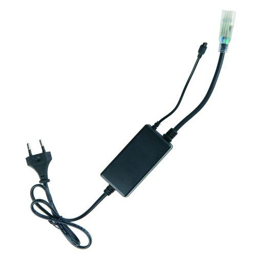 ULC-N20-RGB BLACK Контроллер с пультом ДУ для управления светодиодными многоцветными RGB лентами ULS-5050 сетевого напряжения 220В.