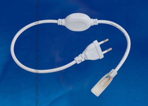 UCX-SP2-A67-NNN WHITE 1 STICKER Провод электрический для подключения монохромных светодиодных лент ULS-3528 сетевого напряжения к сети 220В