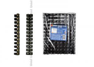 UTС-D-12 UPP-080 Black 10 SHRK Клеммная колодка винтовая Uniel. тип U. материал Полипропилен. допустимый ток 80А. цвет черный. 10 шт-шринк