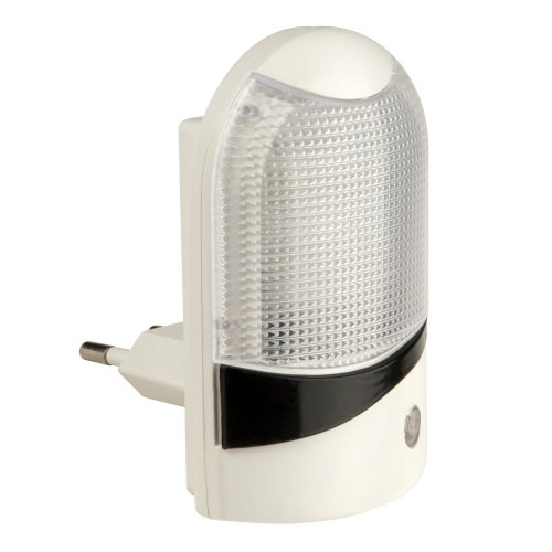 DTL-310-Селена-White-4LED-0.5W Светильник-ночник. С фотосенсором день-ночь. Блистер