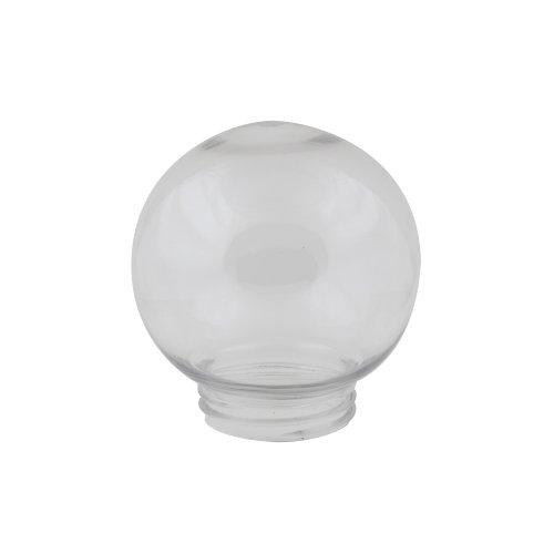 UFP-R150A CLEAR Рассеиватель в форме шара для садово-парковых светильников. Диаметр 150 мм. Тип соединения с крепежным элементом резьбовой. Материал САН-пластик. Цвет прозрачный. Упаковка 16 шт. в групповой картонной коробке.