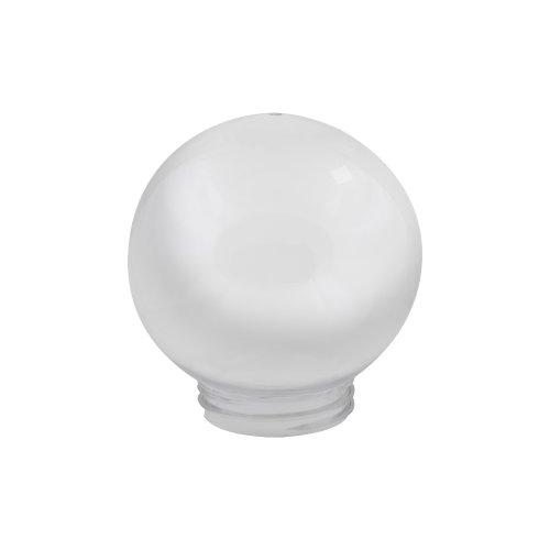 UFP-R150A OPAL Рассеиватель в форме шара для садово-парковых светильников. Диаметр 150мм. Тип соединения с крепежным элементом резьбовой. Материал САН-пластик. Цвет молочный.  TM Uniel