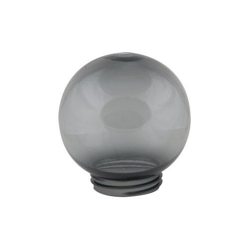 UFP-R150A SMOKE Рассеиватель в форме шара для садово-парковых светильников. Диаметр 150мм. Тип соединения с крепежным элементом резьбовой. Материал САН-пластик. Цвет дымчато-серый. Упаковка 16 шт. в групповой картонной коробке.