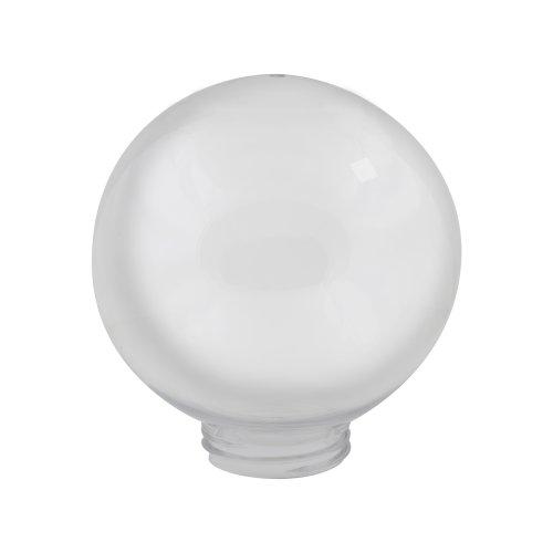 UFP-R200A OPAL Рассеиватель в форме шара для садово-парковых светильников. Диаметр 200мм. Тип соединения с крепежным элементом резьбовой. Материал САН-пластик. Цвет молочный.  TM Uniel