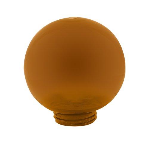 UFP-R200A BRONZE Рассеиватель в форме шара для садово-парковых светильников. Диаметр 200мм. Тип соединения с крепежным элементом резьбовой. Материал САН-пластик. Цвет бронзовый. Упаковка 4 шт. в групповой картонной коробке.