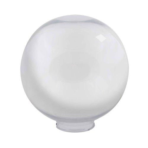 UFP-R250B CLEAR Рассеиватель в форме шара для садово-парковых светильников. Диаметр 250мм. Тип соединения с крепежным элементом посадочный. Материал САН-пластик. Цвет прозрачный. Упаковка 4 шт. в групповой картонной коробке.