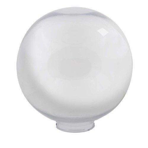 UFP-R300В CLEAR Рассеиватель в форме шара для садово-парковых светильников. Диаметр 300мм. Тип соединения с крепежным элементом посадочный. Материал САН-пластик. Цвет прозрачный. Упаковка 2 шт. в групповой картонной коробке.