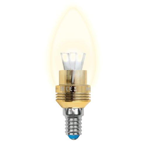 LED-C37P-5W-WW-E14-CL ALC02GD Лампа светодиодная пятилепестковая. Форма свеча. прозрачная колба. Материал корпуса алюминий. Цвет свечения теплый белый. Цвет корпуса золотой. Серия Crystal. Упаковка пластик.