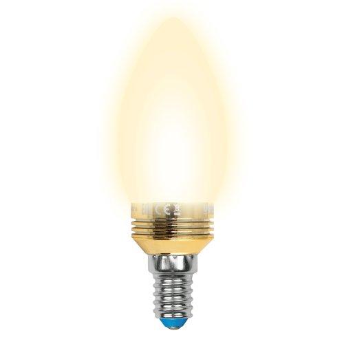 LED-C37P-5W-WW-E14-FR ALC02GD Лампа светодиодная пятилепестковая. Форма свеча. матовая колба. Материал корпуса алюминий. Цвет свечения теплый белый. Цвет корпуса золотой. Серия Crystal. Упаковка пластик