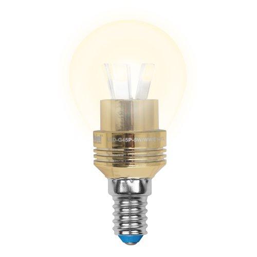LED-G45P-5W-WW-E14-CL ALC02GD Лампа светодиодная пятилепестковая. Форма шар. прозрачная колба. Материал корпуса алюминий. Цвет свечения теплый белый. Цвет корпуса золотой. Серия Crystal. Упаковка пластик
