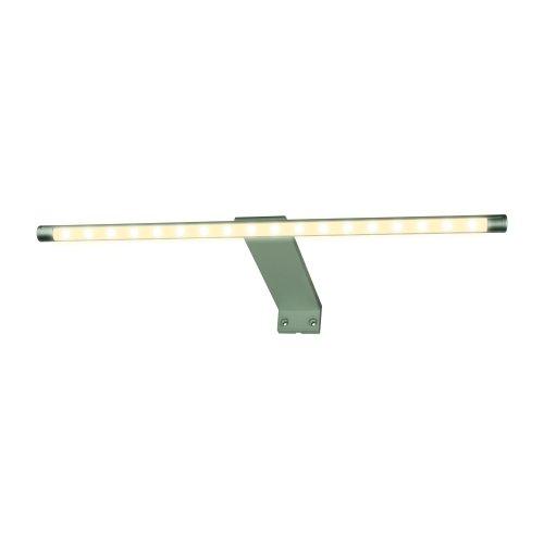 ULM-F32-5.5W-WW IP20 SILVER Светильник светодиодный поворотный для интерьерного освещения. В комплекте с адаптером. Длина 32.5 см. Материал корпуса алюминий. цвет серебро. Теплый белый свет. Упаковка-картонная коробка.