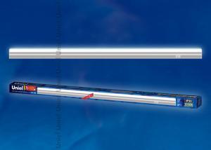 ULI-L02-7W-5100K-SL Светильник линейный светодиодный аналог Т5. Дневной свет. 580Lm. Выключатель на корпусе. Серебристый. TM Uniel.