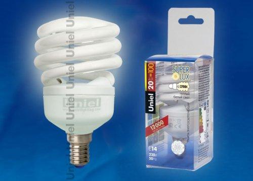 ESL-H21-M20-2700-E14 Лампа энергосберегающая. Пластиковая упаковка