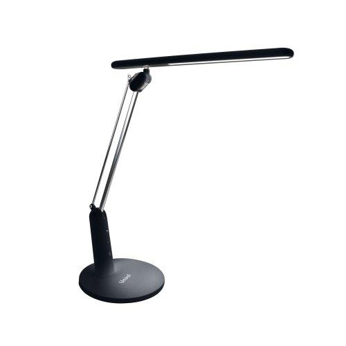TLD-519 Black-10W-Светильник настольный-LED-800Lm-4 режима в диапазоне 2700-6400K-С диммером-Цвет-черный